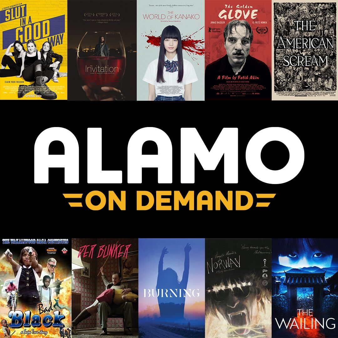 ALAMO DRAFTHOUSE LAUNCHES  'ALAMO ON DEMAND' VOD PLATFORM